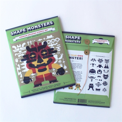 Tree Hopper Toys - shape Monsters