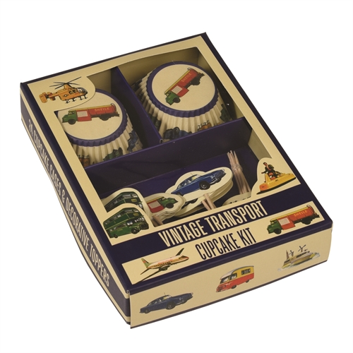 Cupcake Kit - Transportmidler