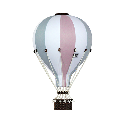 Luftballon - Grå/grøn - rosa - Medium
